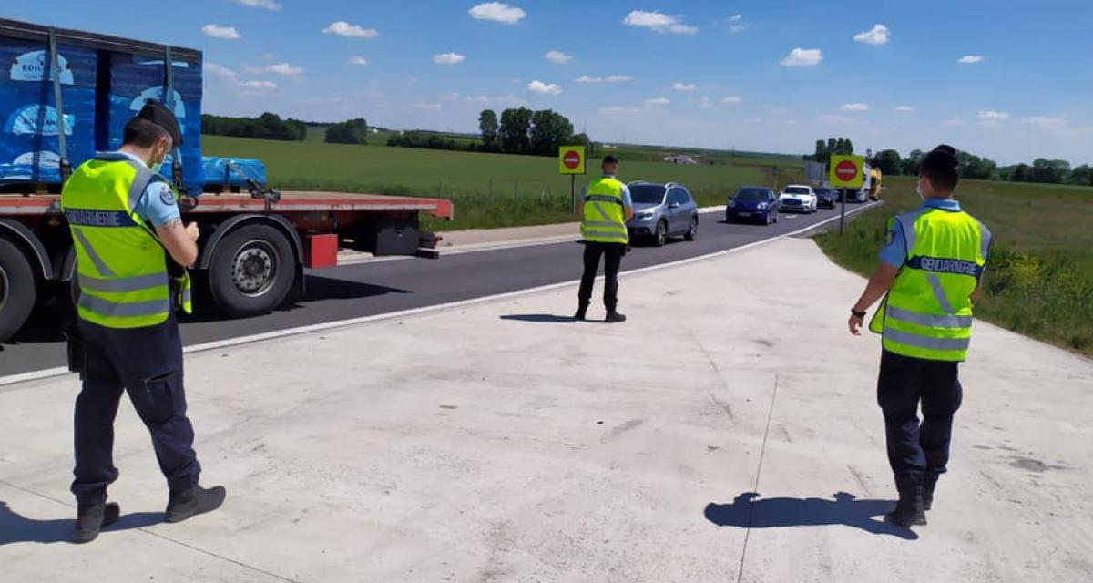 Course sur une route départementale : les deux automobilistes roulaient à 160 km/h