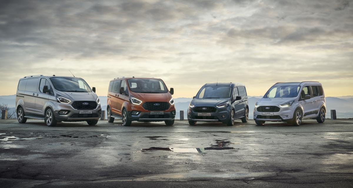 Ford Transit et Tourneo : de nouvelles versions Active et Trail pour repousser les limites