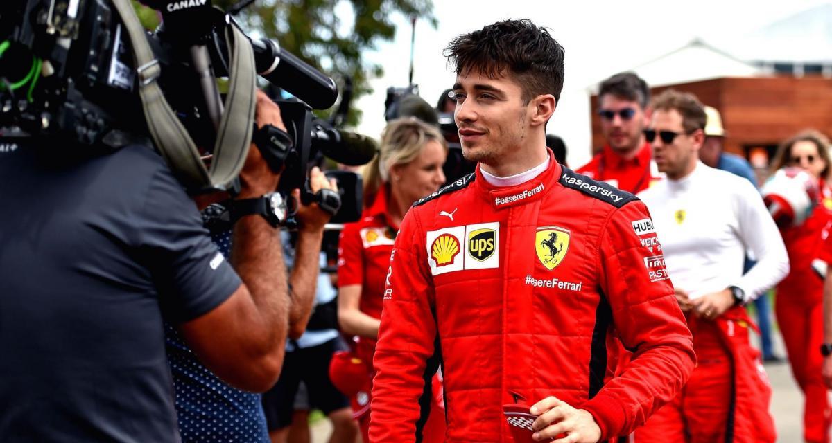 F1 : Charles Leclerc veut participer aux 24 Heures du Mans