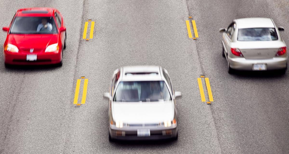 Excès de vitesse en série ce dimanche : retraits de permis à gogo