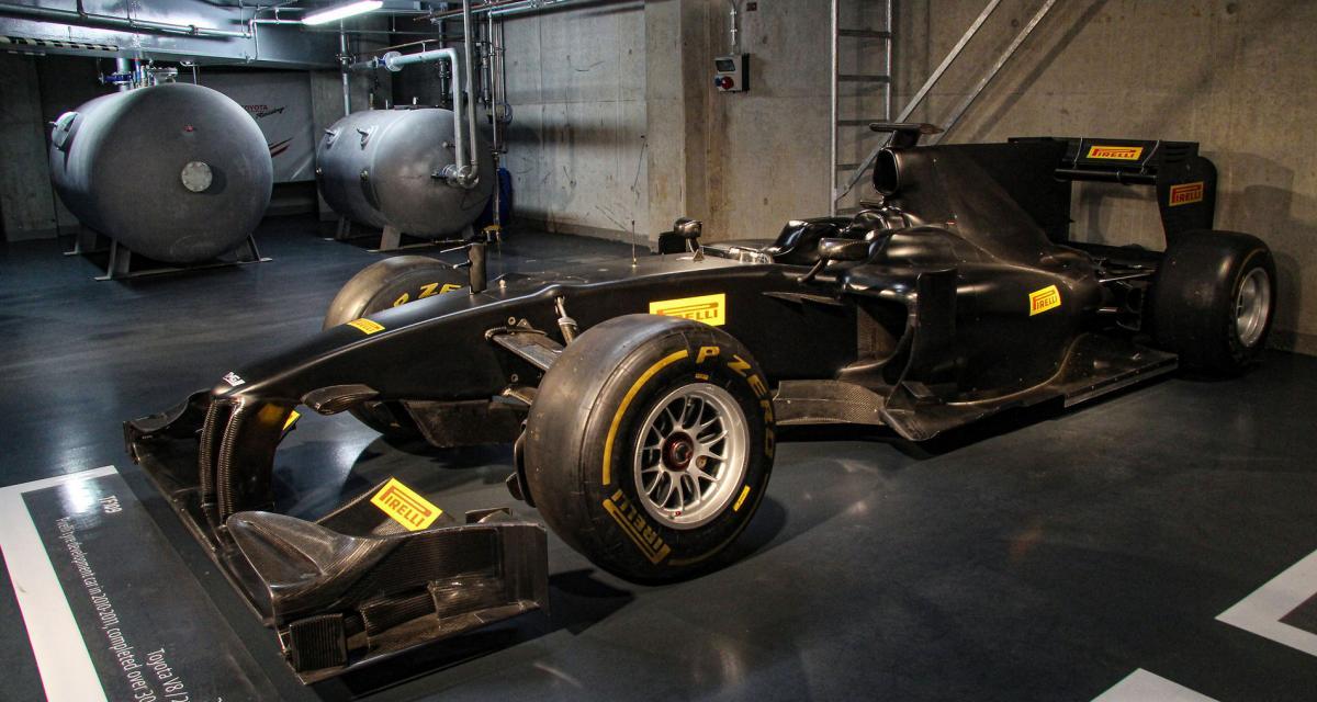 F1 : la Toyota TF109 mise aux enchères