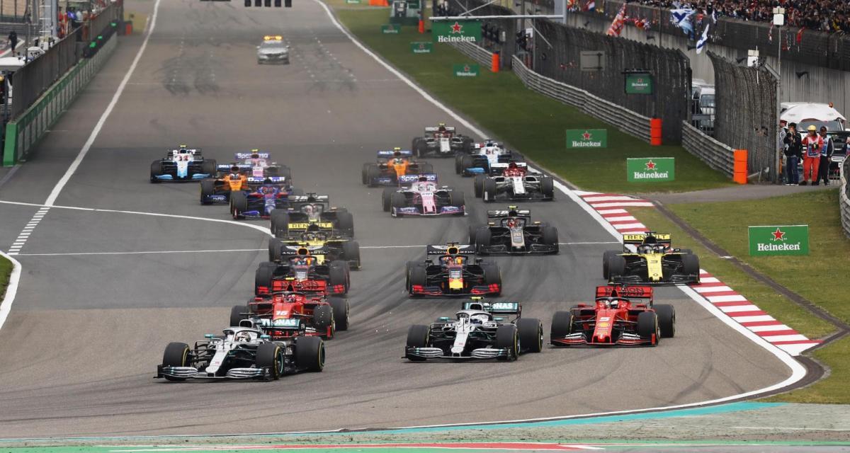 F1 : la Chine s'est vu proposer deux courses pour la saison 2020