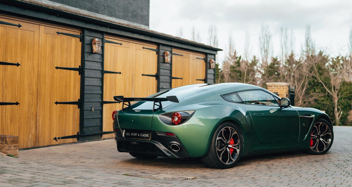 Aston Martin V12 Zagato : une sculpturale rareté sur le marché