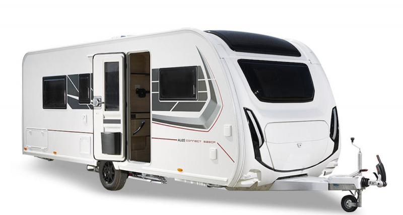 Camping-car : évadez-vous cet été avec la caravane Alizé Connect 520 CP