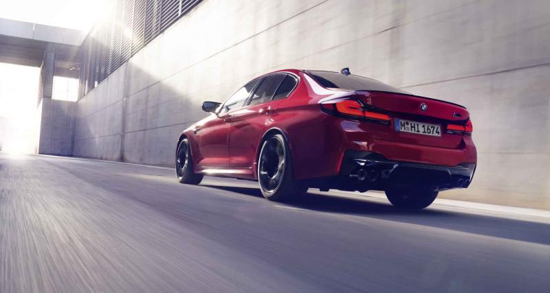 BMW M5 Competition 2020 : le missile quatre portes se remaquille