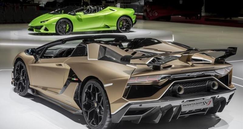 Lamborghini : clap de fin pour les salons automobiles