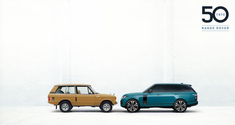 Range Rover Fifty : série limitée luxueuse pour les 50 ans du modèle
