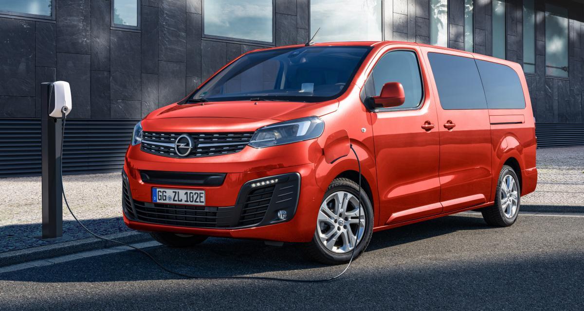 Opel Zafira-e Life : jusqu'à 330 km d'autonomie pour le van électrique