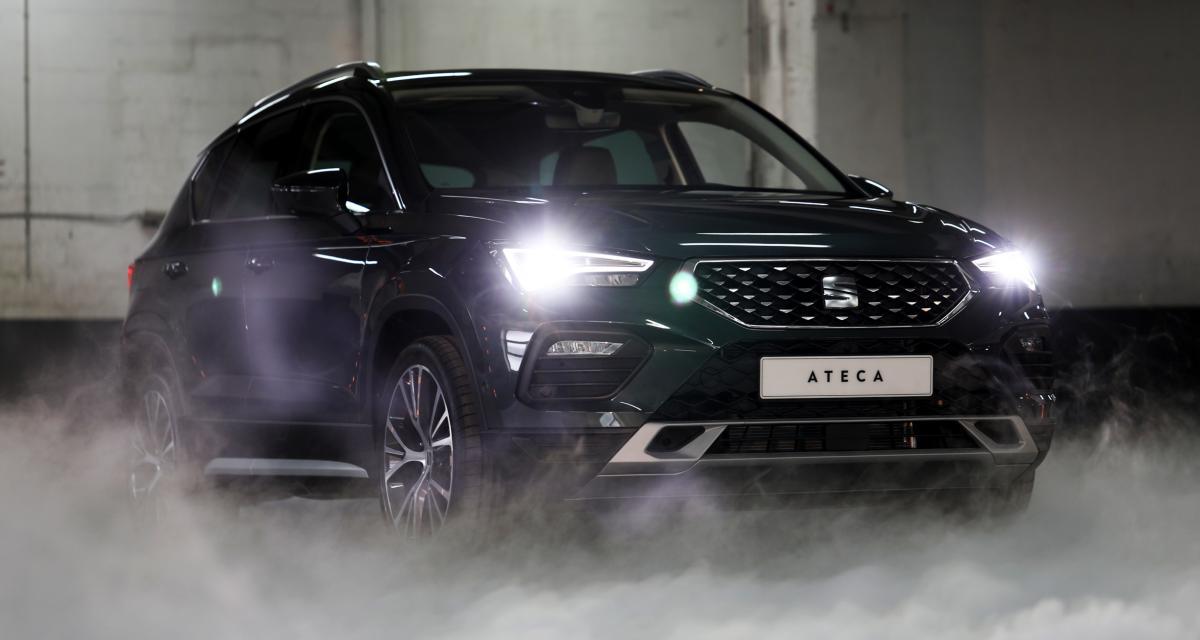 Seat Ateca 2020 : nos photos du SUV compact restylé