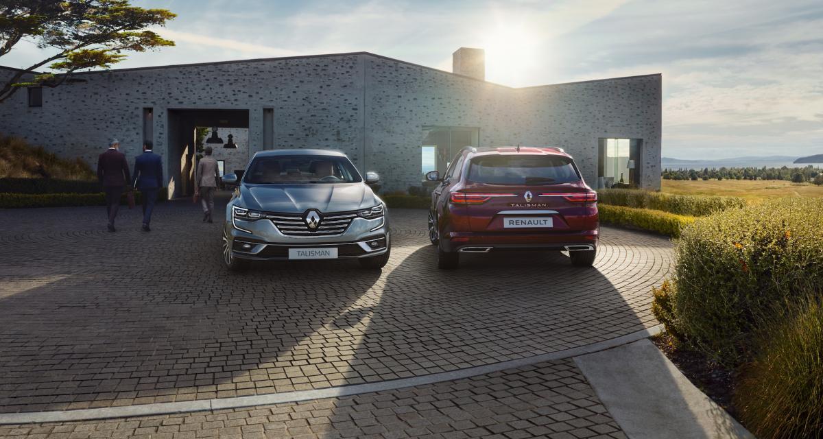 Prix nouvelle Renault Talisman pour les pro : tarifs et motorisations
