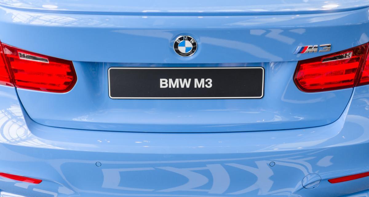 Il trace à 199 km/h au volant de sa BMW M3 avant d'être arrêté