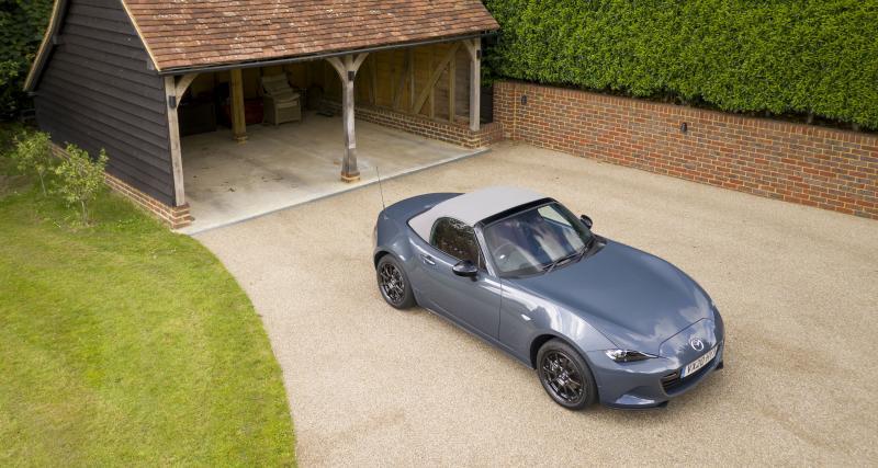 Mazda MX-5 R-Sport : une nouvelle série limitée à 150 exemplaires