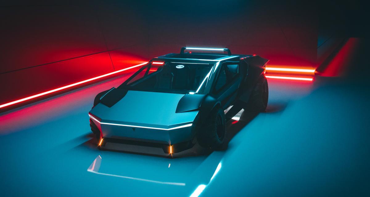 Tesla Cybertruck : re-design indépendant pour le pick-up électrique