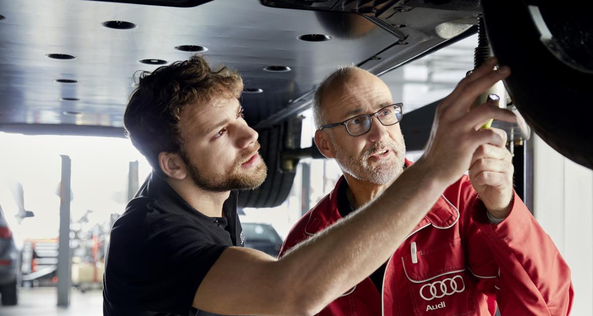 Audi Twin Service : votre véhicule révisé en 90 minutes chrono