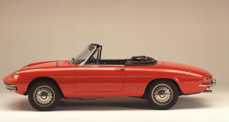 "Alfa Romeo Spider ""Duetto"" : la star hollywoodienne à quatre roues"