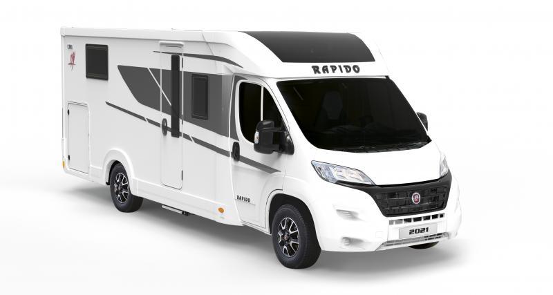 Nouveau Rapido C55 (2021) : partez à l'aventure en camping-car