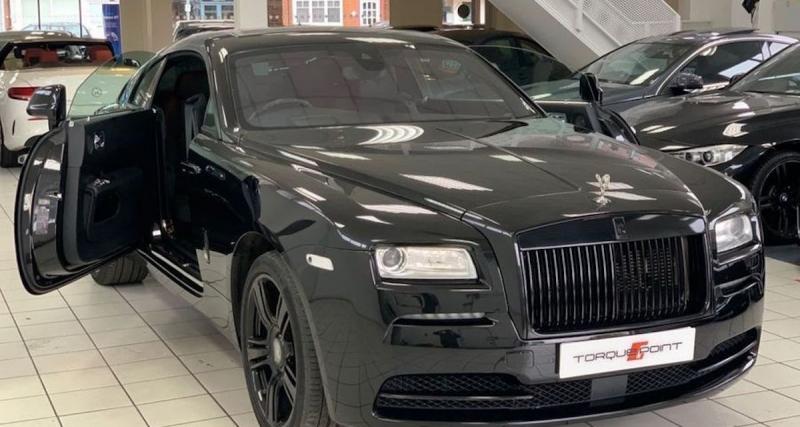 Rolls-Royce Wraith : Alexandre Song (132.430 euros)