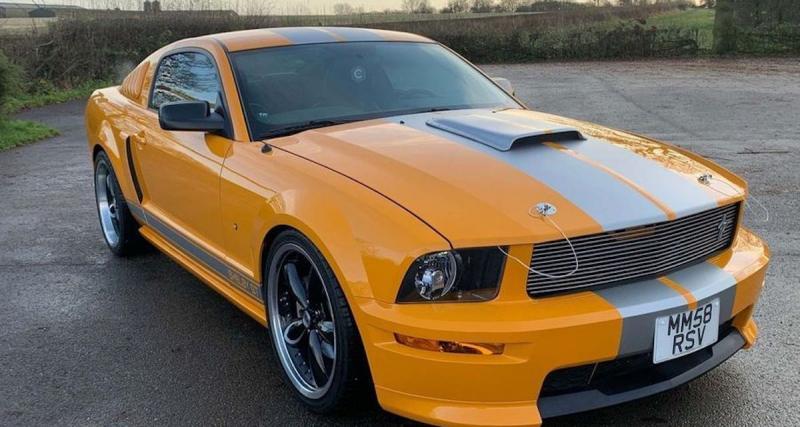 Ford Mustang : Vincent Kompany (54.648 euros)
