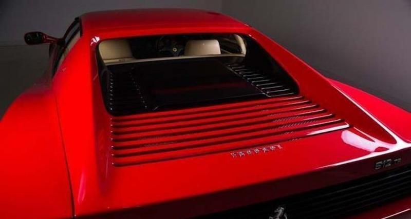 Ferrari 512 : Mark Hateley (193.095 euros)