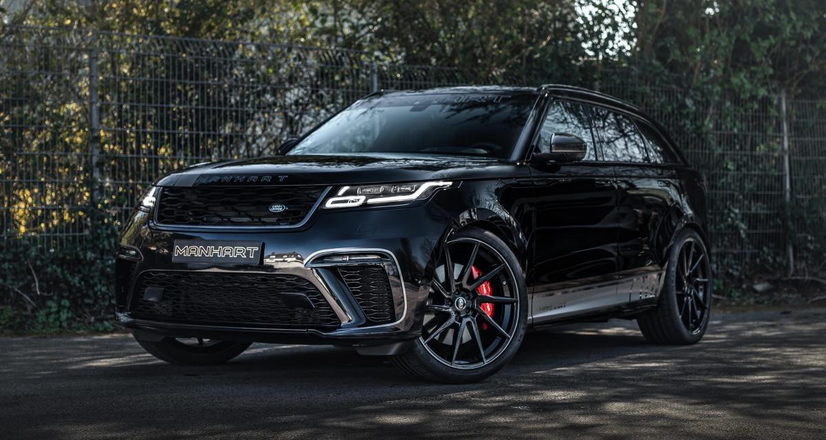 Manhart Velar SV 600 : le Range Rover se radicalise tout en finesse