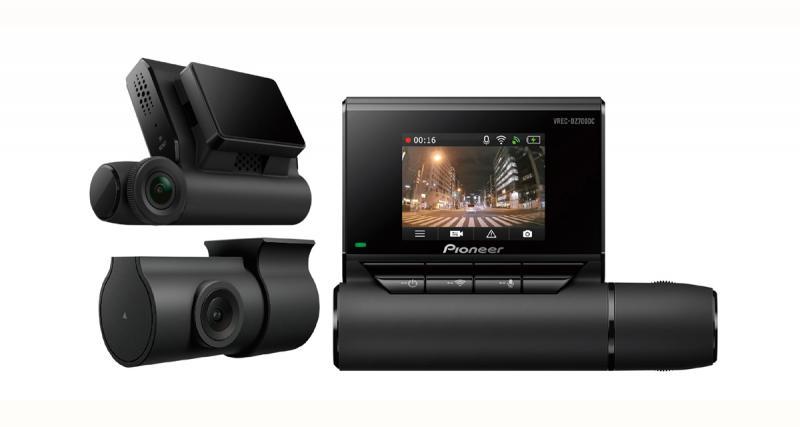 Pioneer commercialise un nouveau pack caméra DVR offrant un très bon rapport qualité/prix