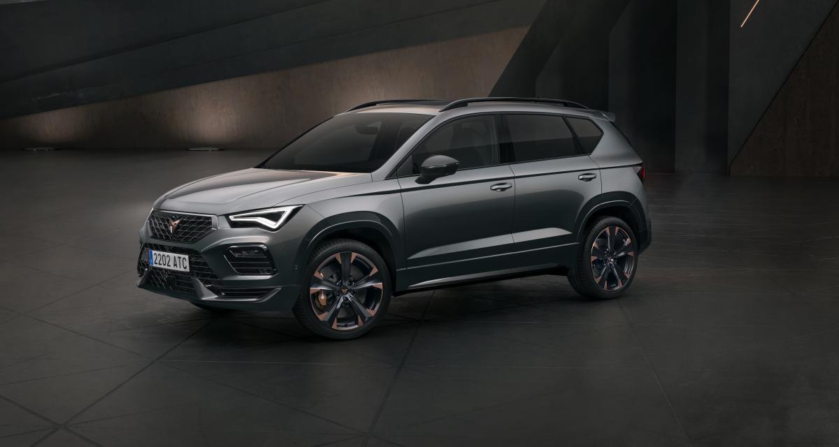 Cupra Ateca (2020) : toujours 300 ch pour le SUV sportif restylé