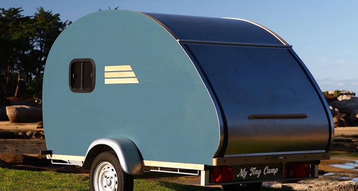 Camping-car : prenez l'air avec style avec la caravane My Tiny Camp