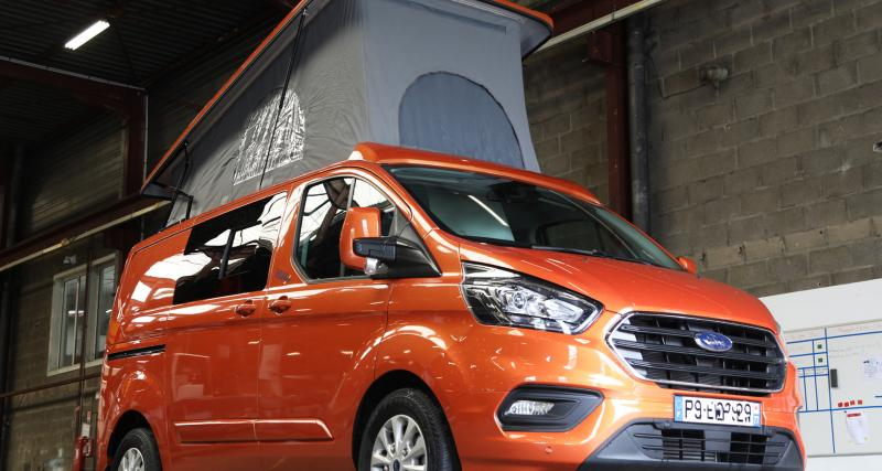 Klubber version Ford Transit Custom : nos photos du van aménagé