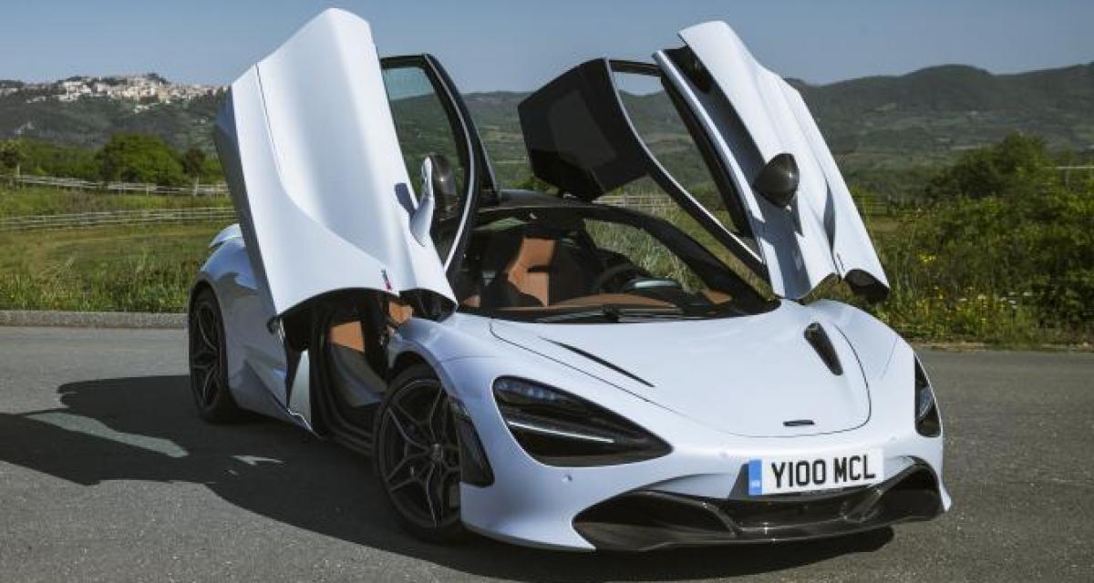 Le bonheur est dans une McLaren 720S pour ce retraité de 78 ans