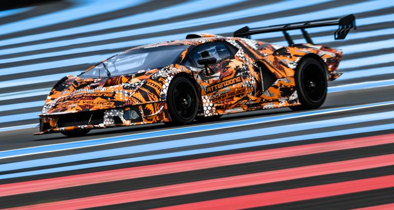 Lamborghini SCV12 : l'hypercar de course au V12 atmosphérique de 830 ch