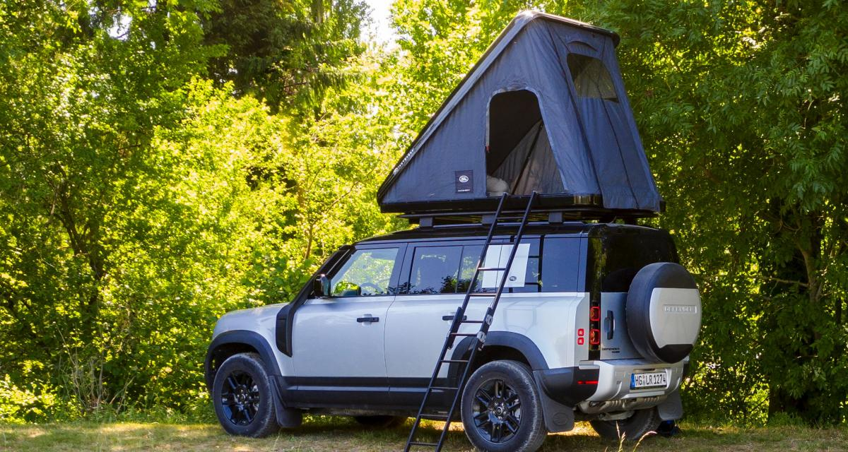 Autohome transforme le Land Rover Defender 110 en camping-car
