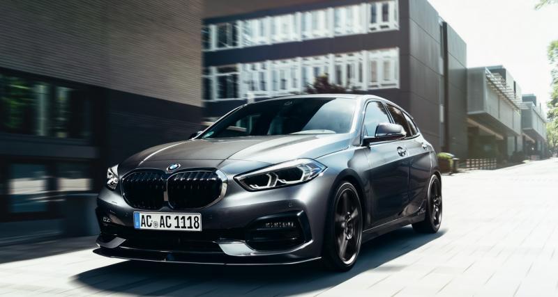 BMW Série 1 (2020) : la compacte plus proche du bitume grâce à AC Schnitzer