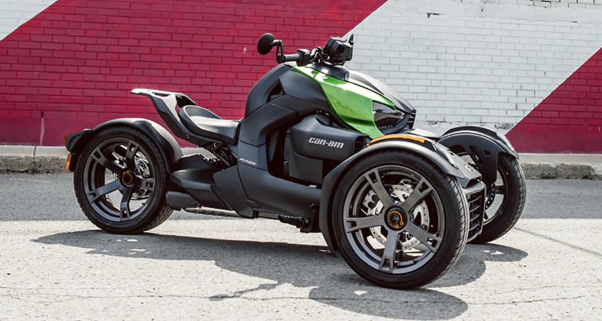 Can-Am Ryker : la moto trois-roues passe sous la barre des 10 000€