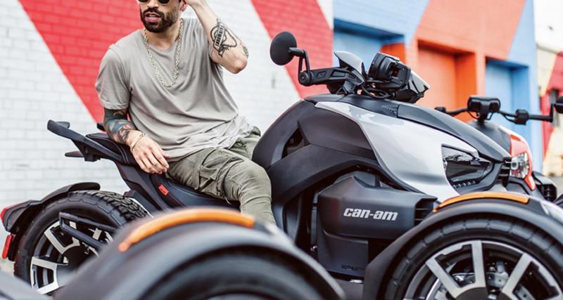 Can-Am Ryker : 600 à 900cc hautement personnalisables