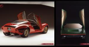 Alfa Romeo Tipo 33 Stradale et Carabo : les fausses jumelles, révolution de style