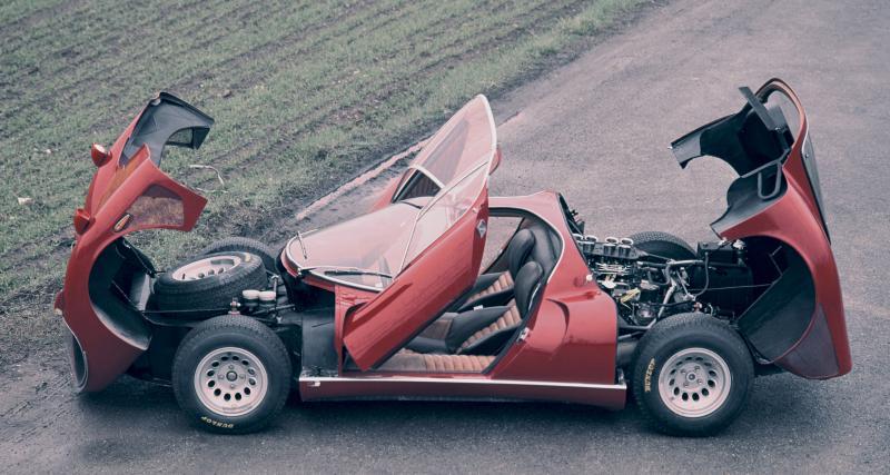 À l'origine, la Tipo 33 est dédiée à la compétition