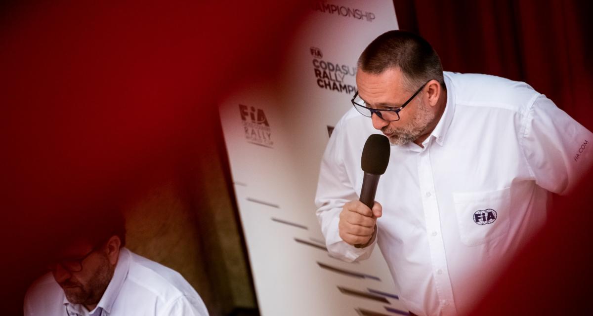 """WRC - Yves Matton (FIA) : """"courir encore au moins quatre rallyes d'ici la fin de l'année"""""""