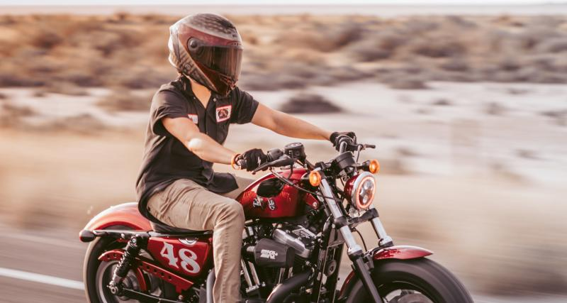 Rétention immédiate du permis pour ce motard flashé à 173 km/h sur une départementale