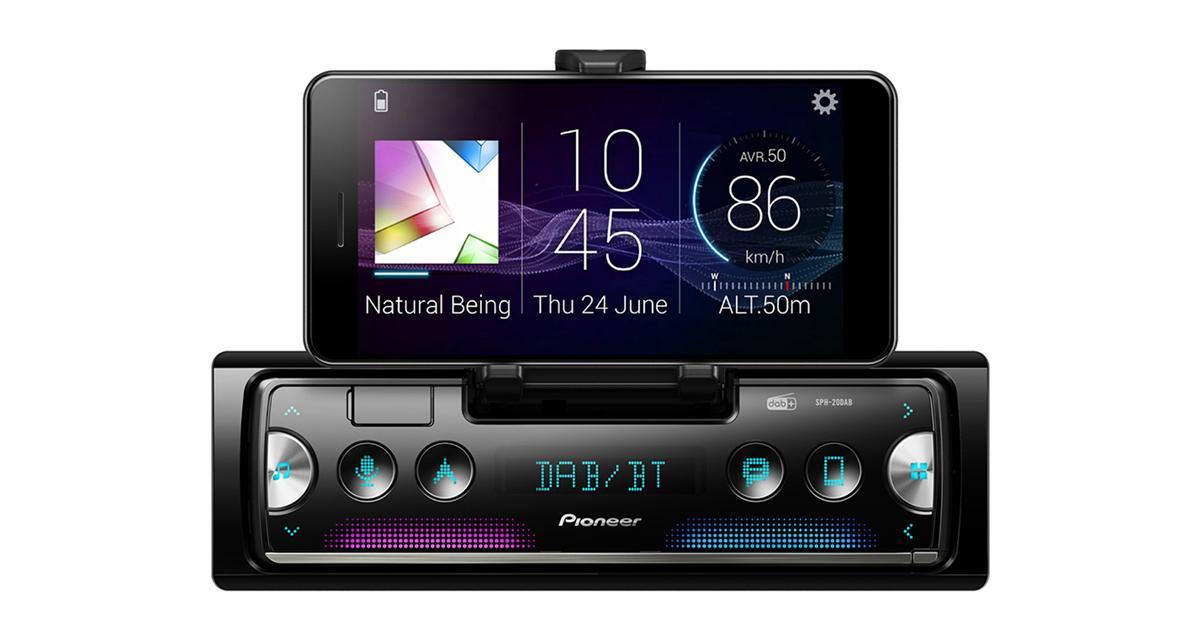 Pioneer dévoile un nouvel autoradio dock Smartphone avec tuner DAB