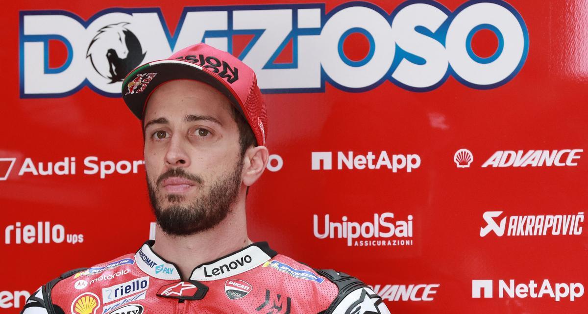 MotoGP : victime d'un accident, Andrea Dovizioso doit se faire opérer