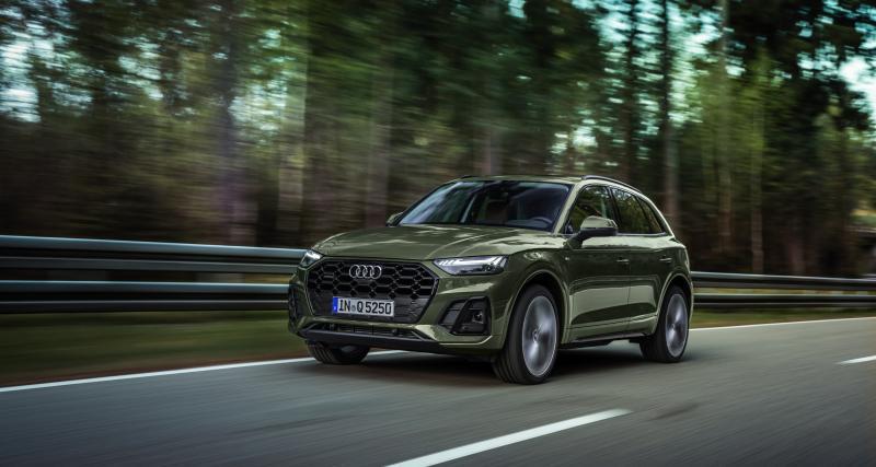 Audi Q5 (2020) : mise à jour globale et feux dynamiques OLED pour le SUV compact