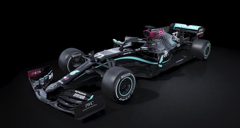 Mercedes va courir dans des voitures noires pour 2020 contre le racisme