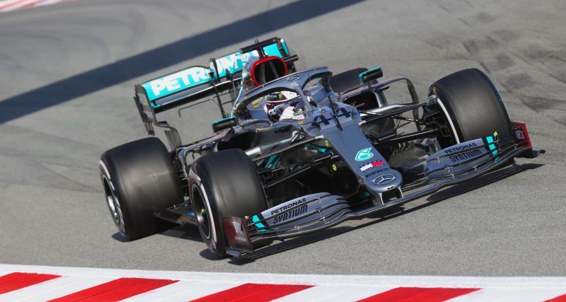 F1 : Lewis Hamilton salue le geste antiraciste de Mercedes