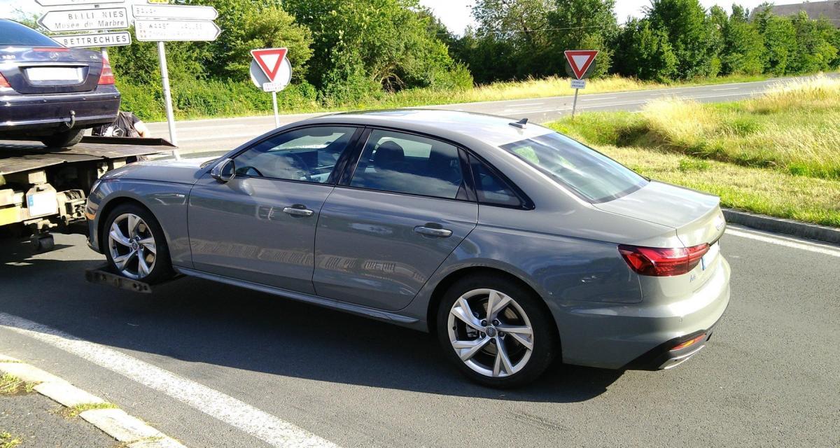 Il perd son permis et sa voiture après une pointe à 191 km/h en Audi A4
