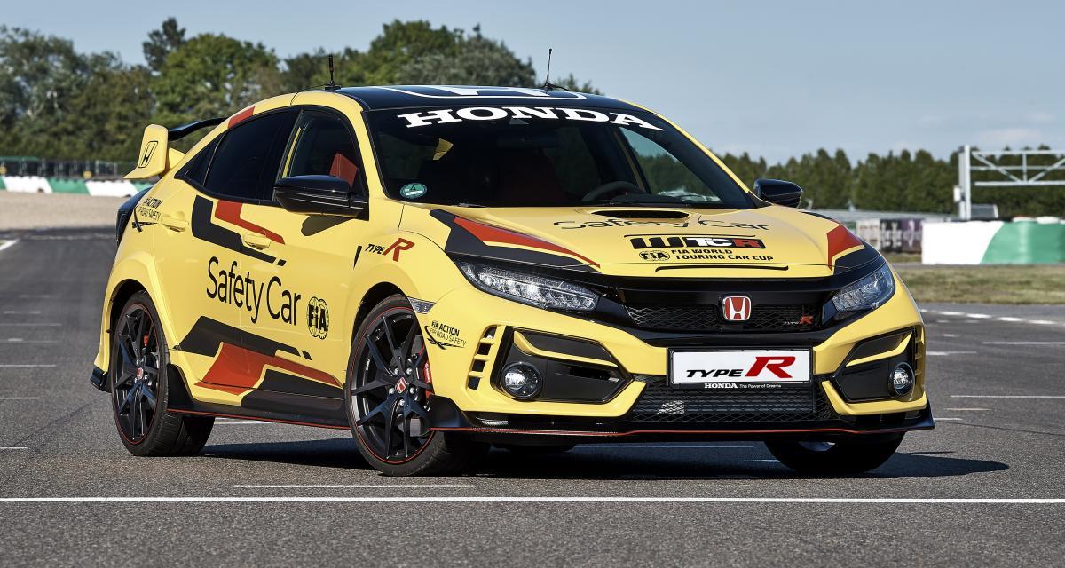 Honda Civic Type R Limited Edition : le nouveau partenaire sécurité du WTCR