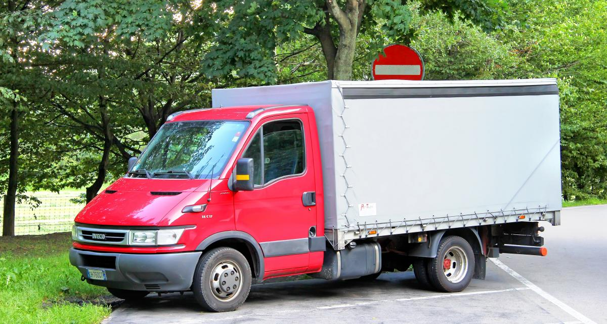 Excès de vitesse en camion à 134 km/h sur une route limitée à 80 !