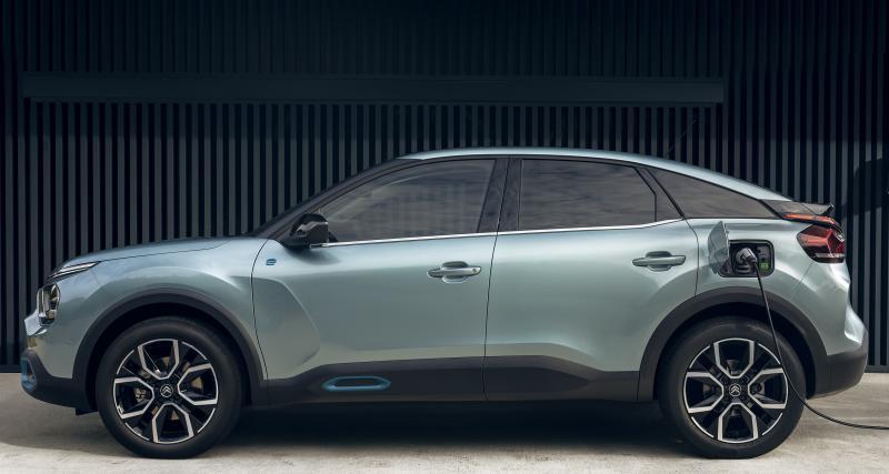 Nouvelle Citroën ë-C4 (2020) : jusqu'à 350 km d'autonomie pour la compacte électrique