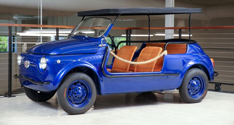 """Fiat 500 Jolly Custom : qui veut une """"Spiaggina"""" pour aller à la mer cet été ?"""