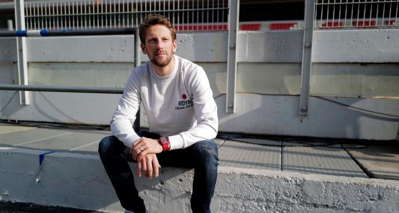 F1 - Grosjean n'est pas trop inquiet de son manque d'entraînement