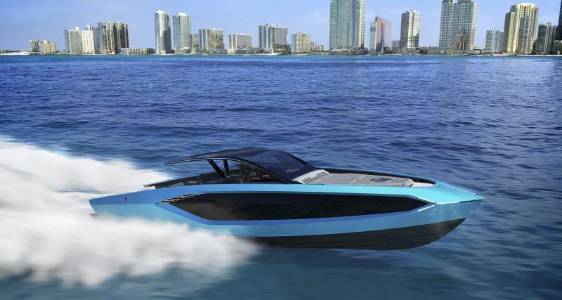 Tecnomar for Lamborghini 63 : la supercar des mers